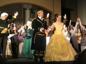 One of my favorite roles that I have played... Belle in Beauty and the Beast!