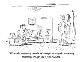 This strip was drawn by Barbara Smaller and published in the June 14, 2010 edition of the New Yorker. You can purchase a framed version of this strip from the Conde Nast store.