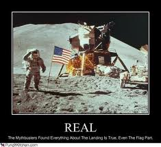 All claims trying to prove the moon landing was fake, have been busted.