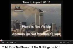 This is another video on YouTube in which tries to analyze a component of the 9/11 attacks that seems inconsistent or illogical: the impact of the planes crashing into the building.