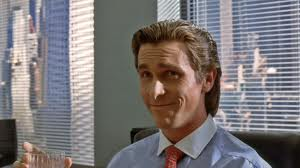 Patrick Bateman (Christian Bale) is a man looking for love.